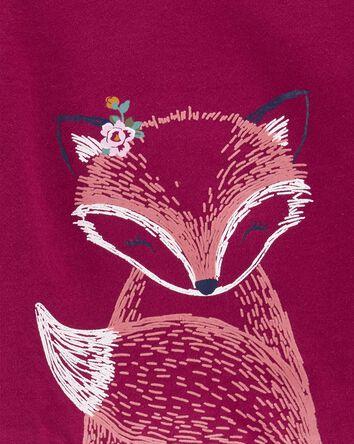2-Piece Long-Sleeve Tee & Fox Leggi...