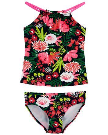 Floral 2-Piece Tankini