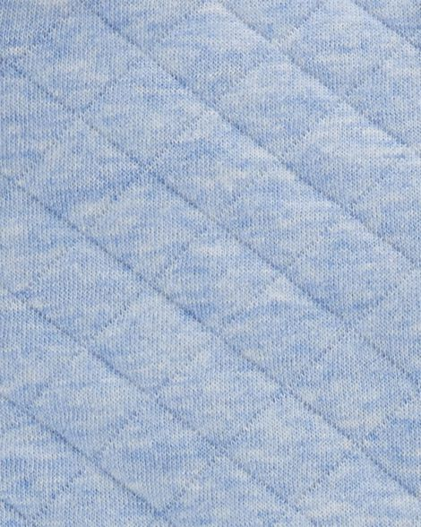 3-Piece Quilted Little Vest Set