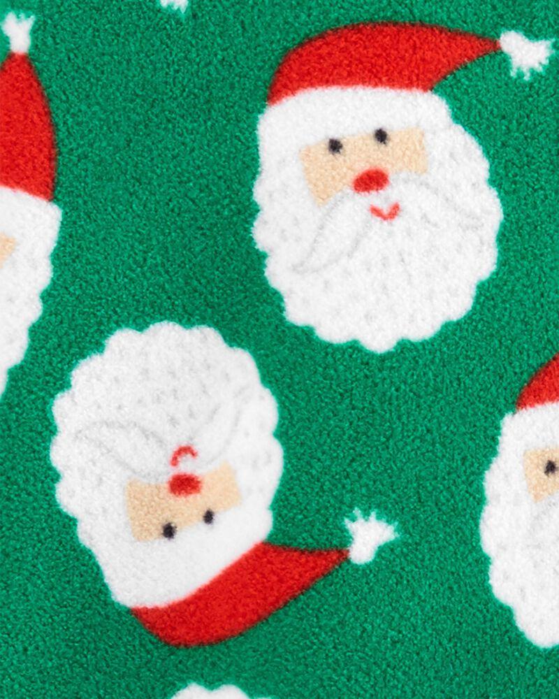 Christmas Zip-Up Fleece Sleep & Play, , hi-res