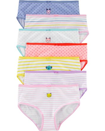 7-Pack Animal Stretch Cotton Undies