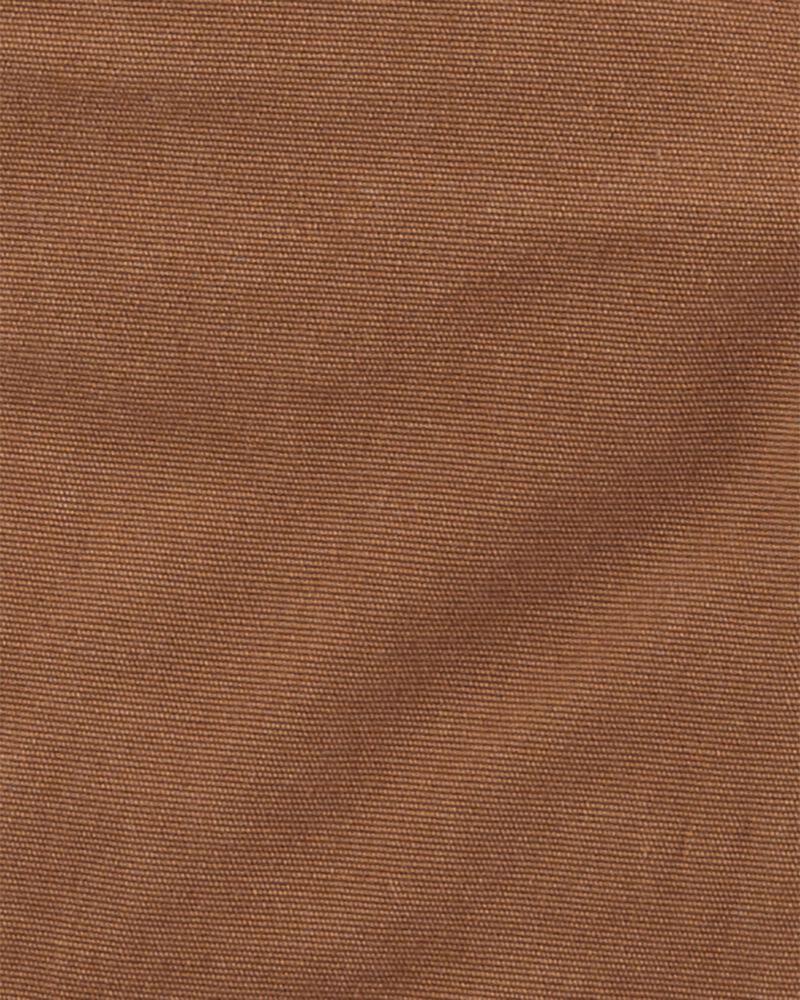 Convertible Stretch Canvas Overalls, , hi-res