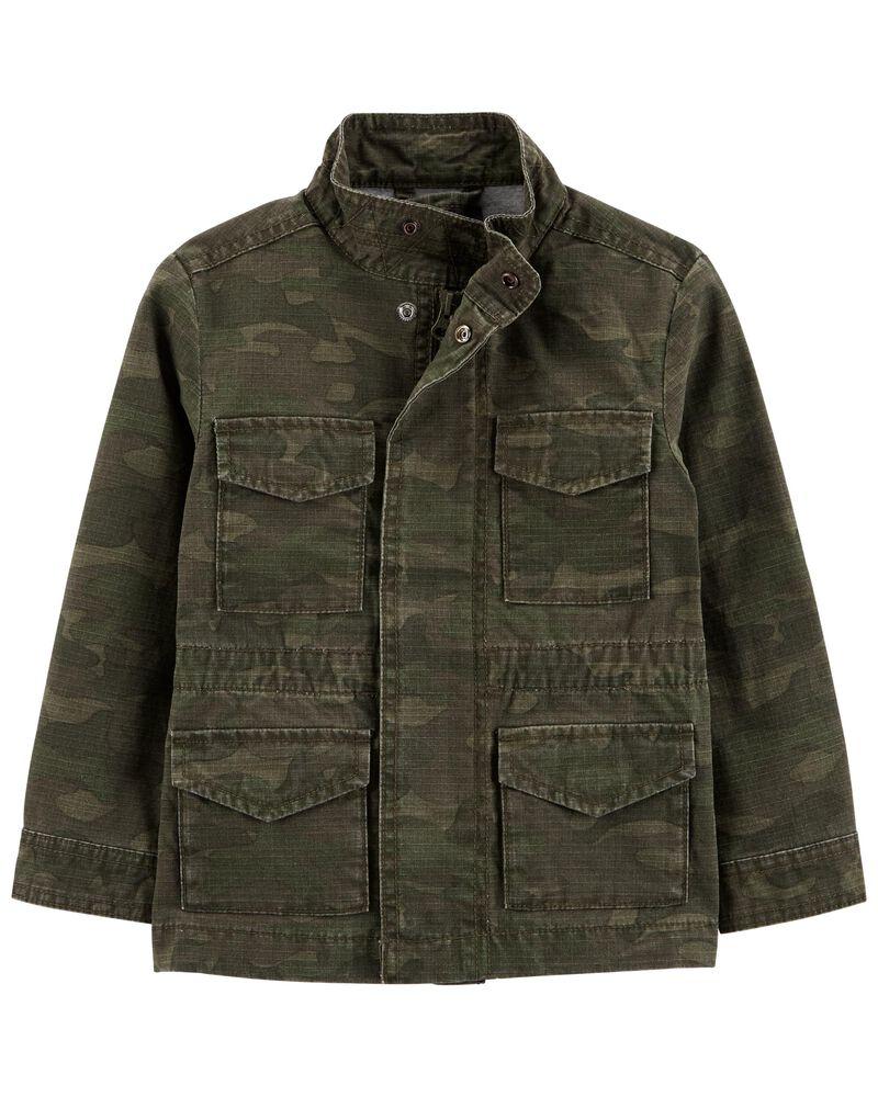 Camo Field Jacket, , hi-res