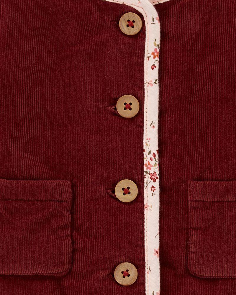 Patch Pocket Corduroy Jacket, , hi-res