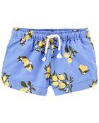 Lemon Sun Shorts, , hi-res