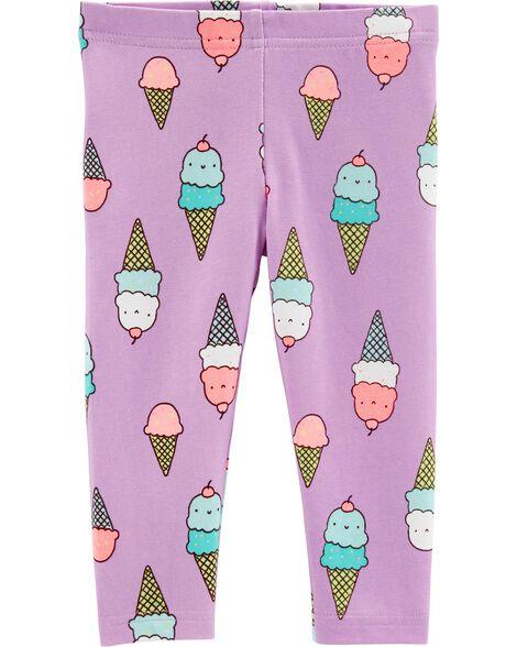 Ice Cream Capri Leggings