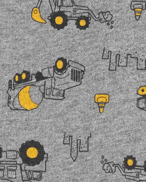 Combinaison en jersey bouclette à camion de construction