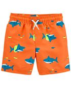 Shark Swim Trunks, , hi-res