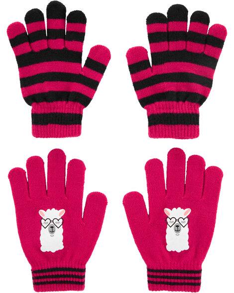 2 paires de gants antidérapants à lama