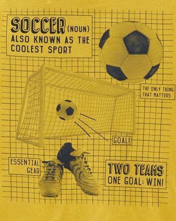 T-shirt en jersey soccer