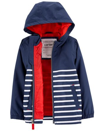 Colourblock Stripe Lightweight Wind...