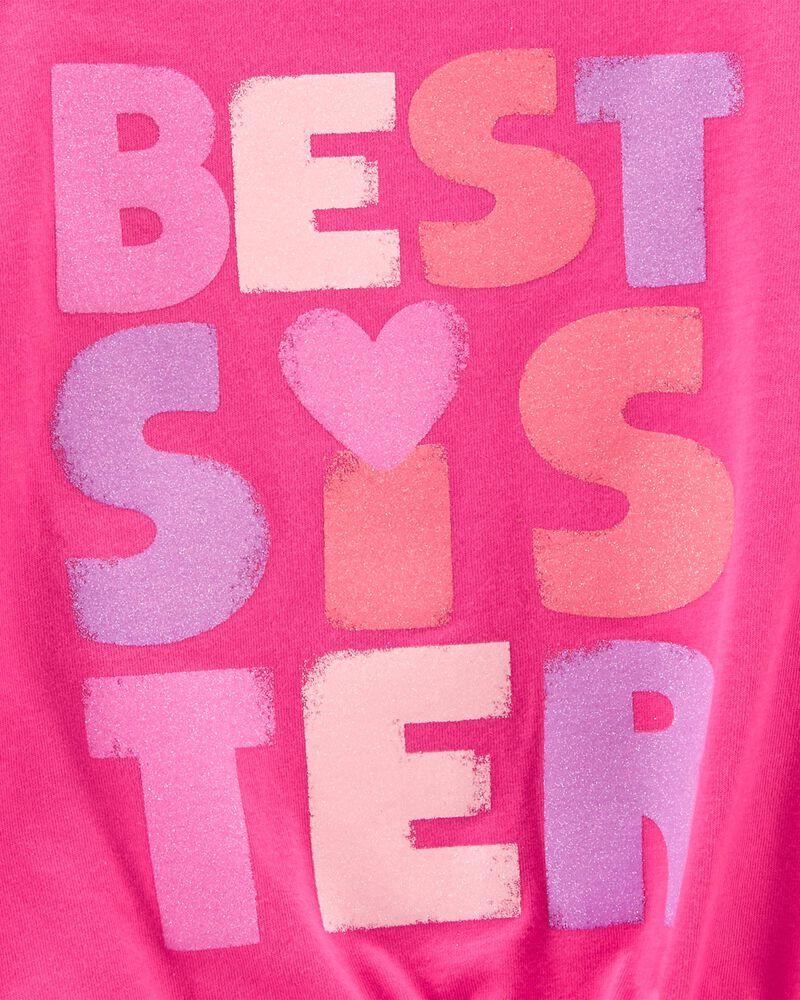 Best Sister Jersey Tee, , hi-res