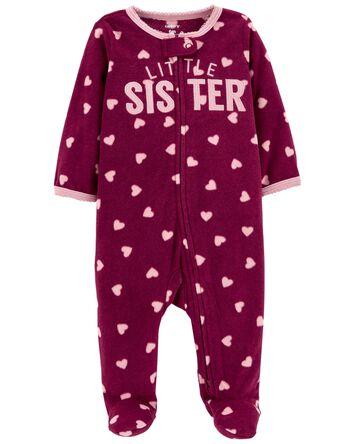 Little Sister Fleece Sleep & Play