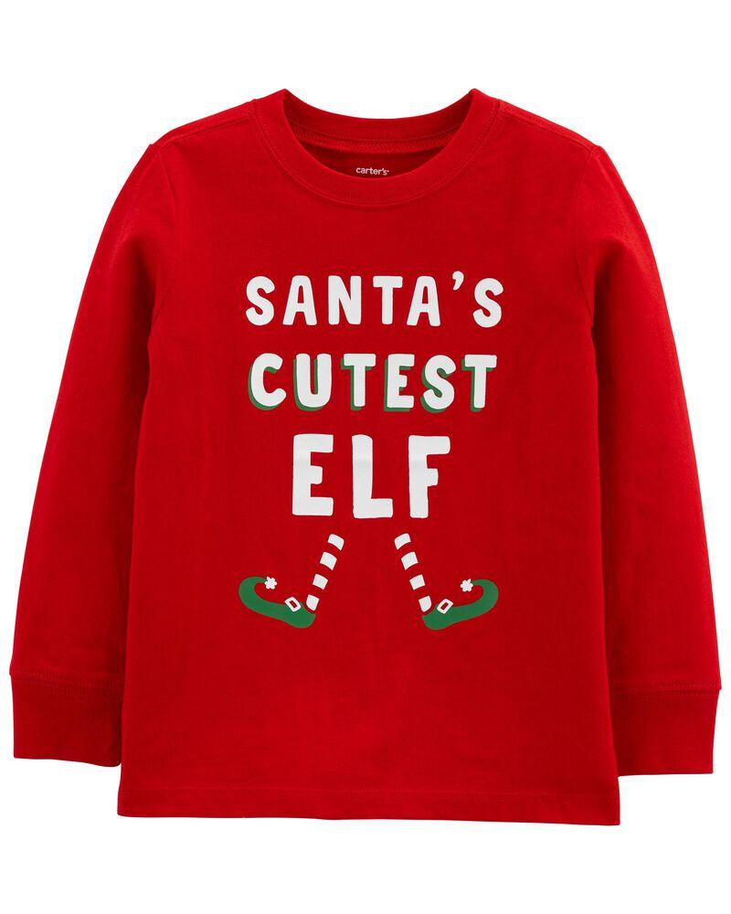 Holiday Elf Jersey Tee, , hi-res