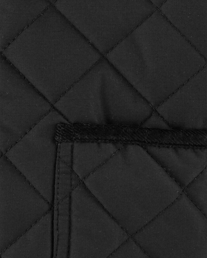 Zip-Up Flannel-Lined Hoodie, , hi-res