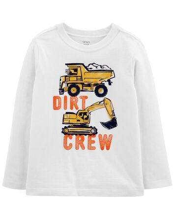 T-shirt en jersey avec motif de con...