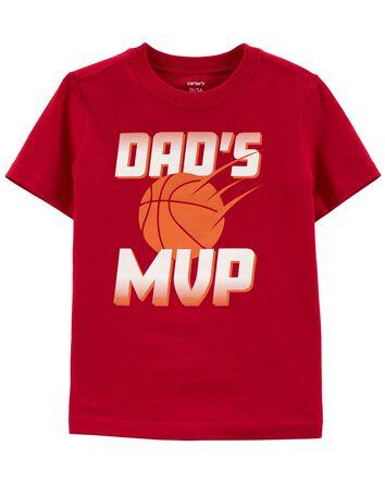 Dad's MVP Jersey Tee