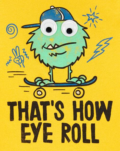 Monster Eye Roll Graphic Tee