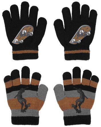 KOMBI 2-Pack Skateboard Mini Glove...
