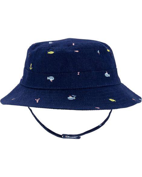 Chapeau cloche pour la plage