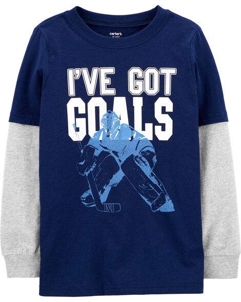 Double Decker Hockey Tee