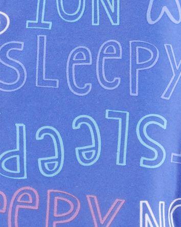 Pyjamas en molleton 1 pièce sans pi...