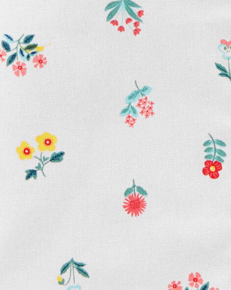 2-Piece Bodysuit & Floral Skirtall Set