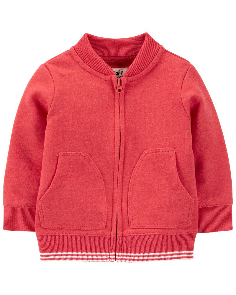 Soft Knit Bomber Jacket, , hi-res