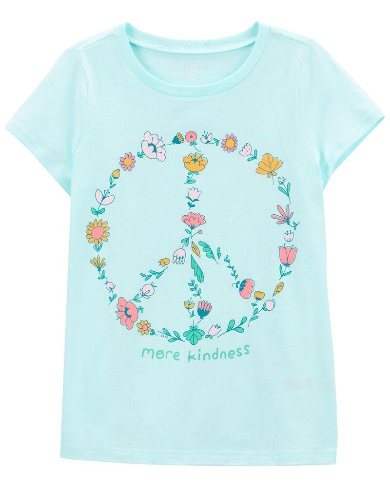 T-shirt en jersey Peace, , hi-res