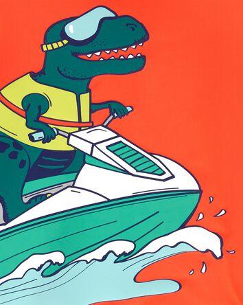 Jet Ski Dinosaur Rashguard