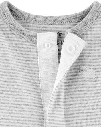 Gigoteuse en coton rayé pour prémat...