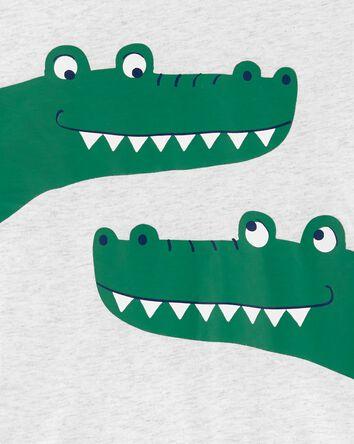 Ensemble 2 pièces t-shirt à alligat...