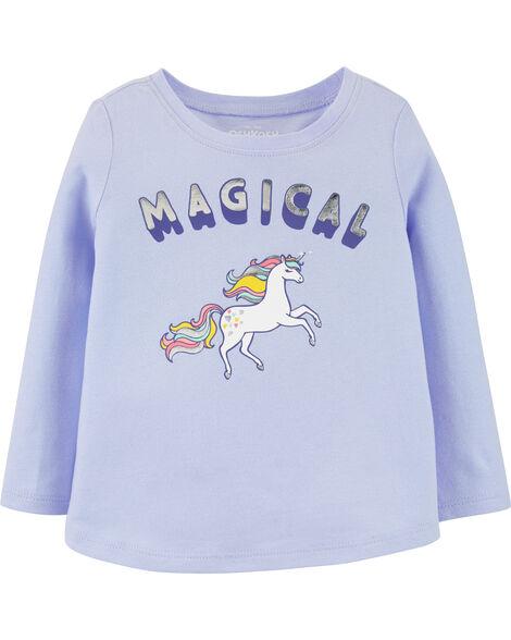 T-shirt licorne magique