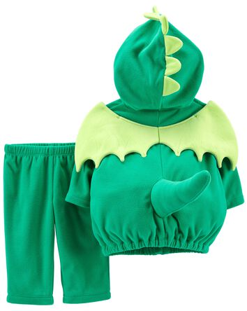 Costume d'Halloween p'tit dinosaure