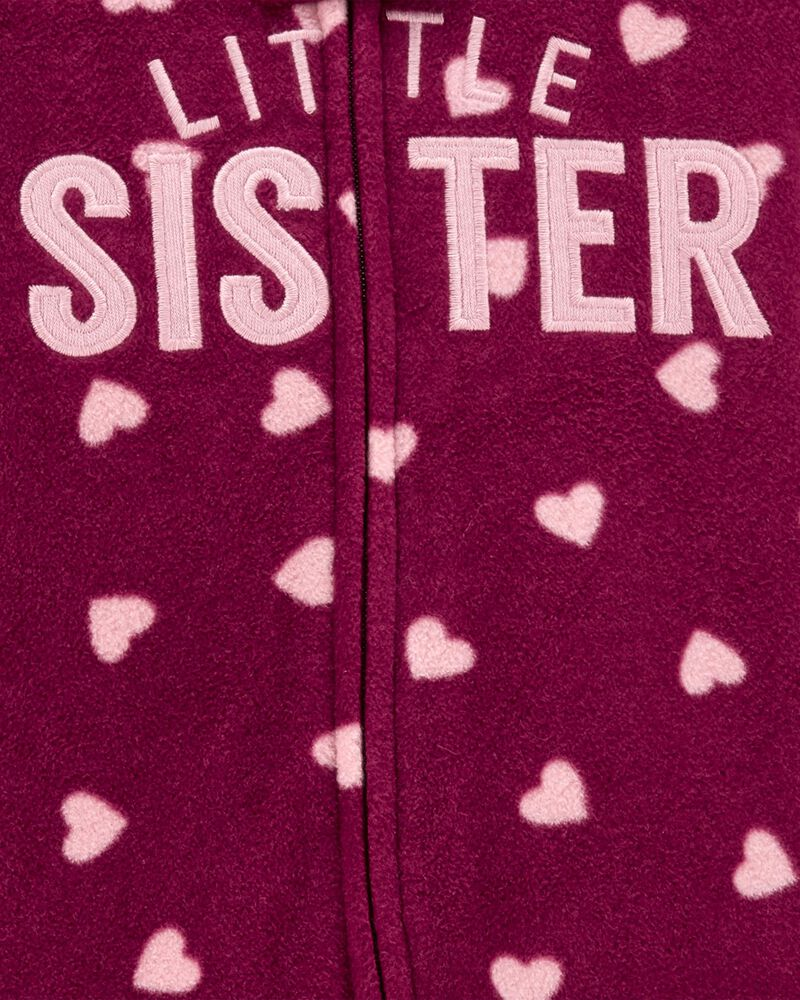 Little Sister Fleece Sleep & Play, , hi-res