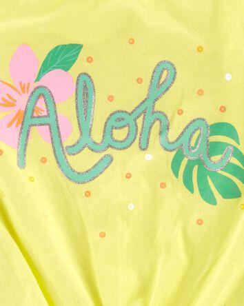 Débardeur en jersey Aloha