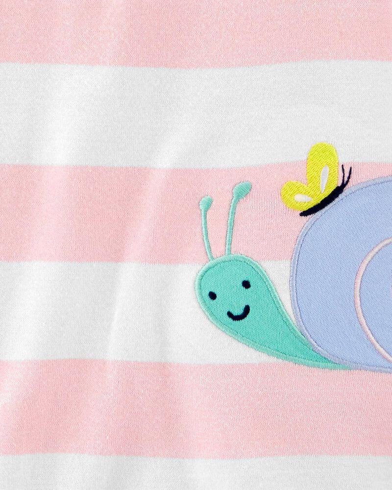 Striped Snail Romper, , hi-res