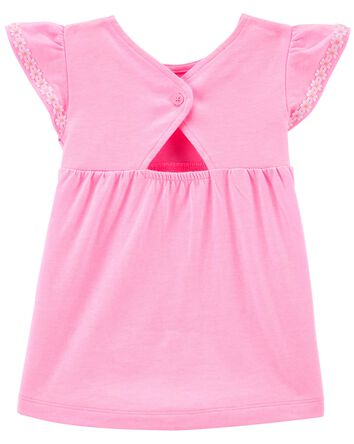 Babydoll Jersey Top