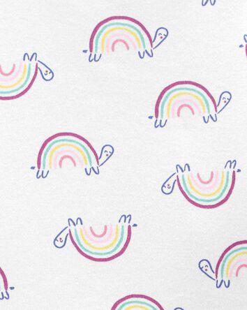 4-Piece Rainbow 100% Snug Fit Cotto...