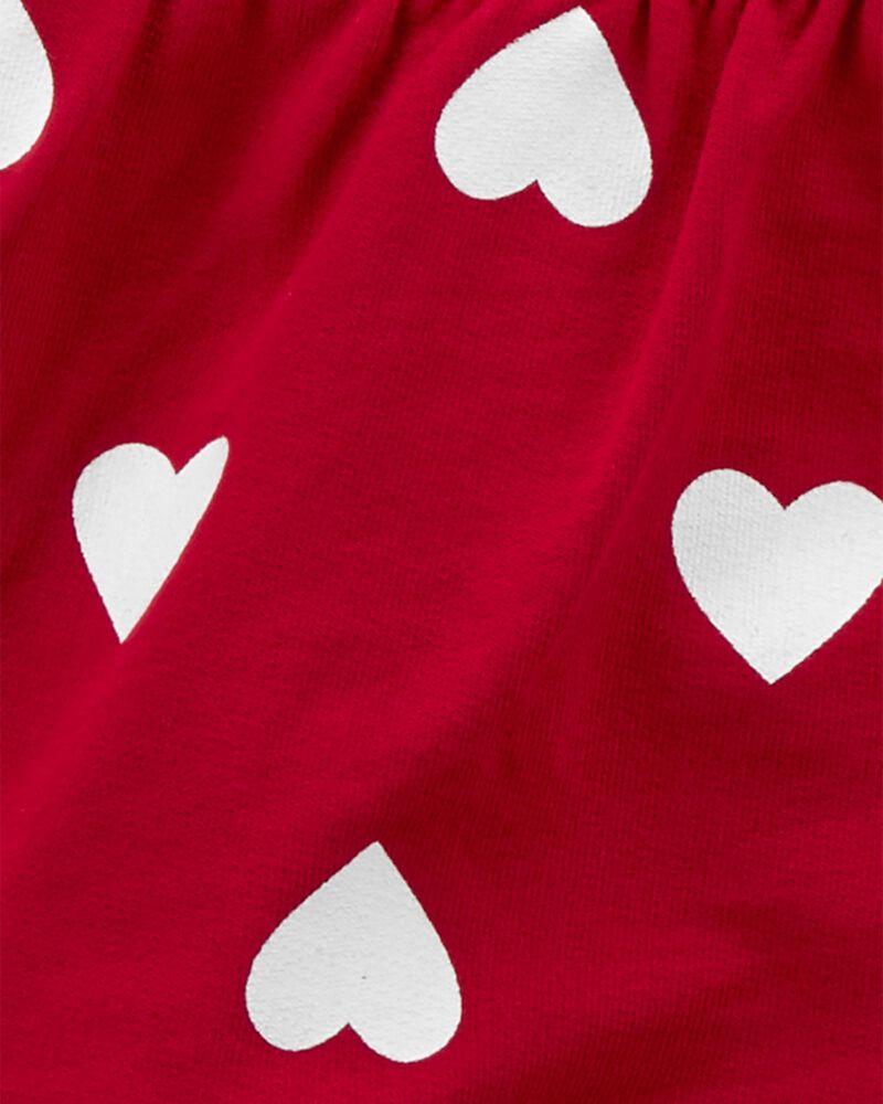 3-Piece Heart Print Little Cardigan Set, , hi-res