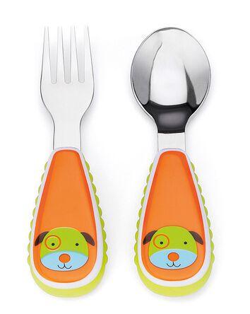 Fourchette et cuillère Zoo