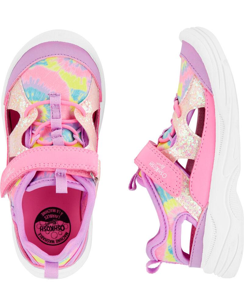 Tie-Dye Bump Toe Sandals, , hi-res