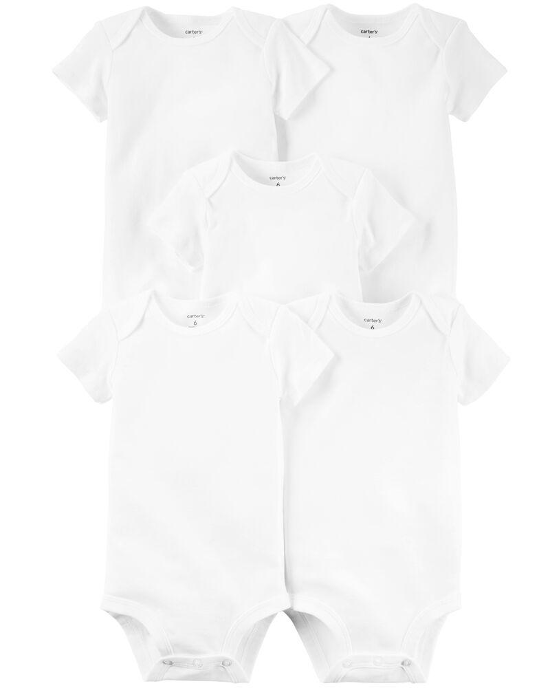5-Pack Short-Sleeve Original Bodysuits, , hi-res