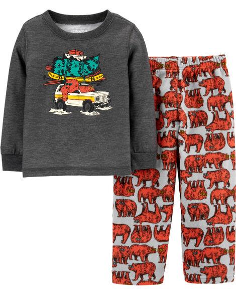 2-Piece Bears PJs