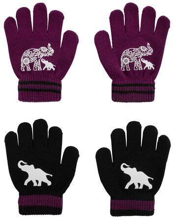 KOMBI 2-Pack Elephant Mini Glove Se...