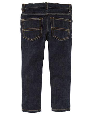 Jeans fuseau coupe régulière - rinç...