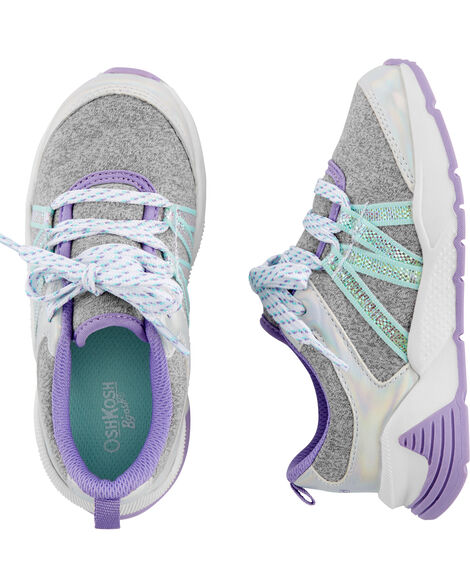 Holographic Athletic Sneakers