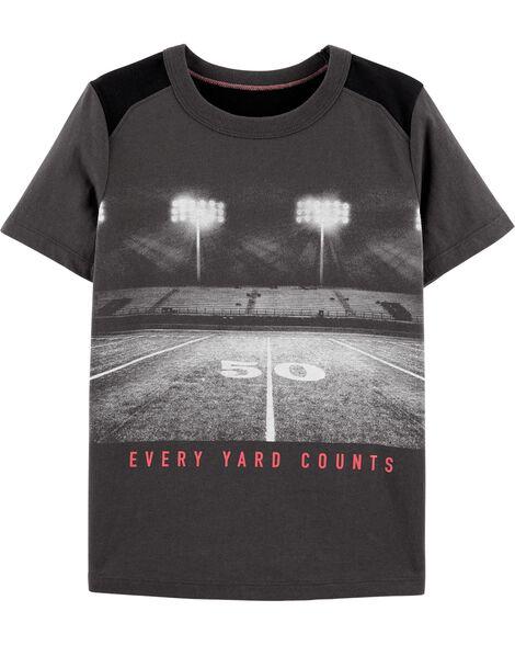 T-shirt à imprimé de sport