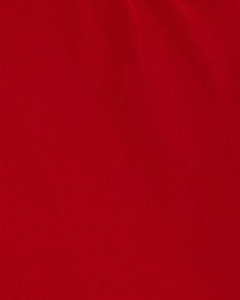 T-shirt en coton rouge