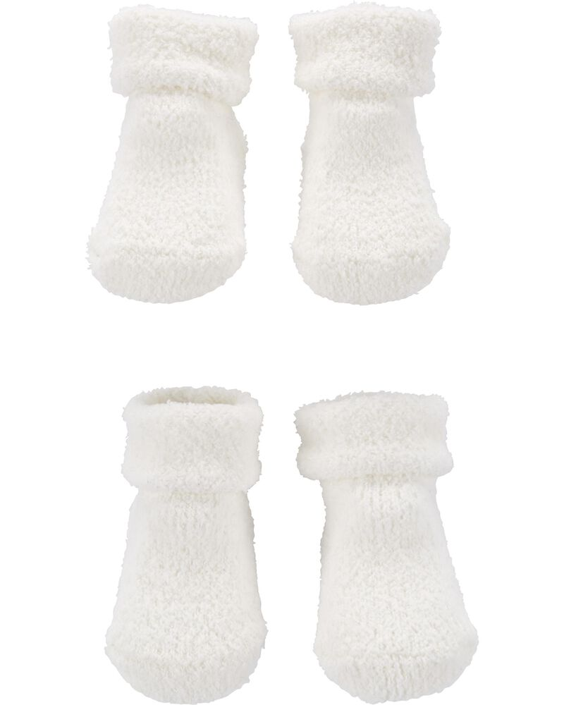 2-Pack Chenille Booties, , hi-res